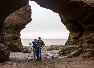 Ryan and Jacob Groom at Hopewell Rocks