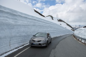 Norway - Snow Road