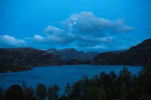 Preikestolen hostel twilight