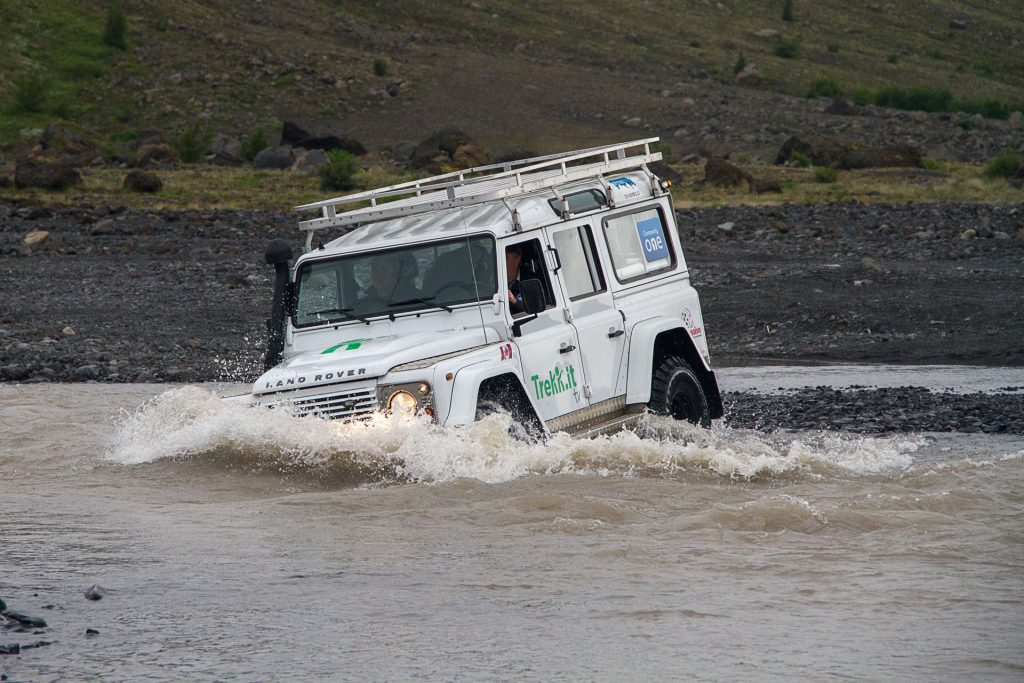 Happy Land Rover Defender