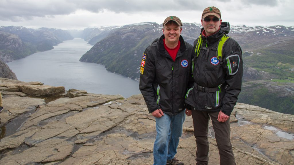 Ryan and Rodney in Norway